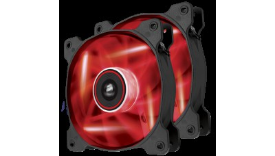 Corsair Air Series SP120 LED Red High Static 120mm Cooling Fan