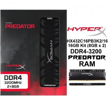 HyperX Predator DDR4 RGB 8GB 3200MHz