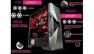 Antec Dark Avenger Gaming Case DA601