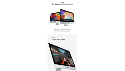 iMac 27 inch Retina 5K Display 3.5GHz quad-core
