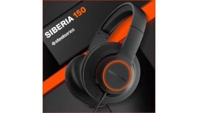 Logit SteelSeries Siberia 150 Gaming Headset 7.1 Surround Sound