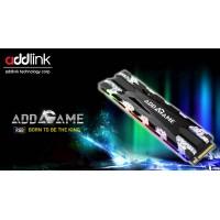 Addlink 256 GB Gaming SSD heatsink RGB